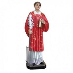 Statua San Lorenzo in vetroresina cm 110