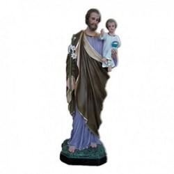 Statua San Giuseppe in vetroresina cm 100