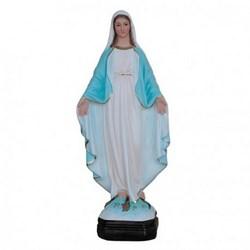 Statua Madonna Miracolosa in resina cm 30