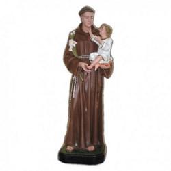 Statua Sant'Antonio da Padova in vetroresina cm 85
