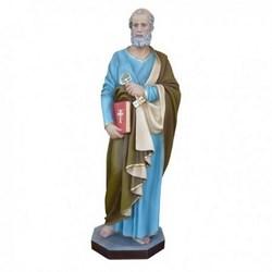 Statua San Pietro in vetroresina cm 110