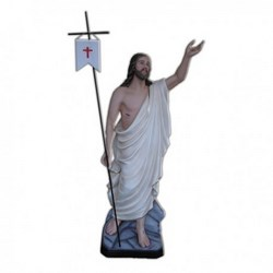 Statua Gesù Risorto in vetroresina cm 130