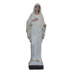 Statua Madonna di Medjugorje in resina cm 30