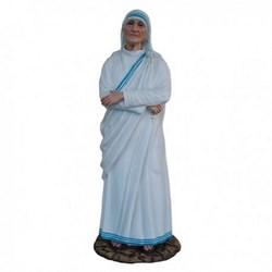 Statua Santa Madre Teresa di Calcutta in vetroresina cm 110