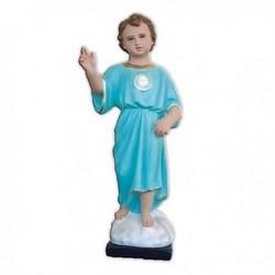 Statua Infanzia di Gesù in resina cm 45