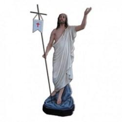 Statua Gesù Risorto in vetroresina cm 165