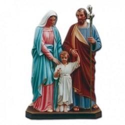 Statua Sacra Famiglia in vetroresina cm 170