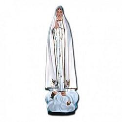 Statua Madonna di Fatima in vetroresina cm 60