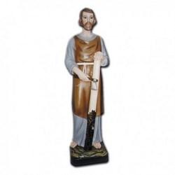Statua San Giuseppe lavoratore in vetroresina cm 80