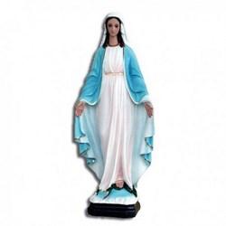 Statua Madonna Miracolosa in vetroresina cm 60
