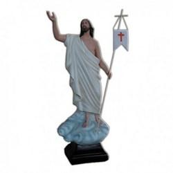 Statua Gesù Risorto in vetroresina cm 65