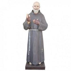 Statua San Pio da Pietrelcina in vetroresina cm 180