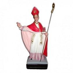Statua San Gennaro in resina cm 40