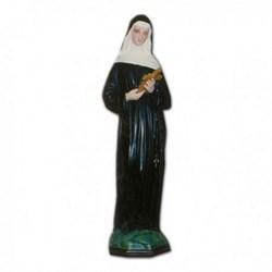 Statua Santa Rita in vetroresina cm 60