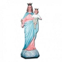 Statua Madonna Ausiliatrice in vetroresina cm 140