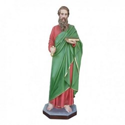 Statua San Paolo in vetroresina cm 110