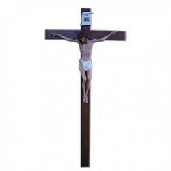 Corpo cm 60 in vetroresina, completa di croce in legno cm 140