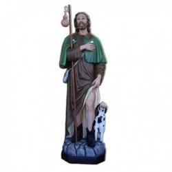 Statua San Rocco in vetroresina cm 160