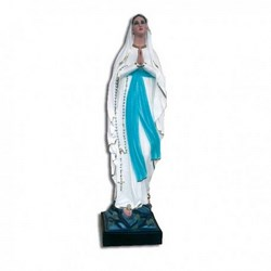 Statua Madonna di Lourdes in vetroresina cm 85