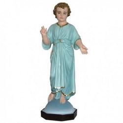 Statua Infanzia di Gesù in vetroresina cm 100