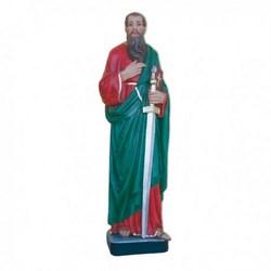 Statua San Paolo in vetroresina cm 80