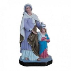 Statua Sant'Anna di Barra in resina cm 35