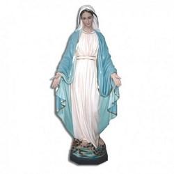 Statua Madonna Miracolosa in vetroresina cm 112