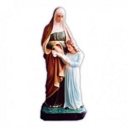 Statua Sant'Anna in vetroresina cm 100