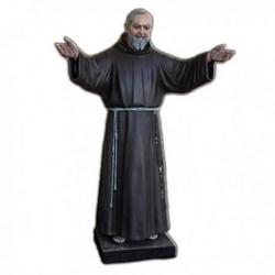 Statua San Pio da Pietrelcina a braccia aperte in vetroresina cm 180