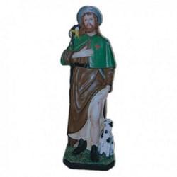 Statua San Rocco in vetroresina cm 60