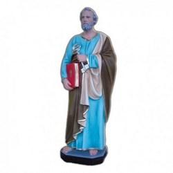 Statua San Pietro in vetroresina cm 80