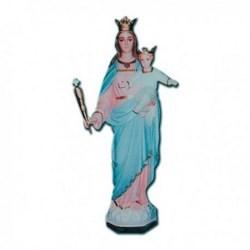 Statua Madonna Ausiliatrice in vetroresina cm 105
