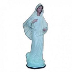 Statua Madonna di Medjugorje in resina cm 40