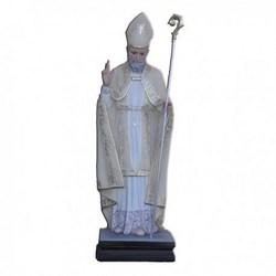 Statua Sant'Alfonso Vescovo in vetroresina cm 80