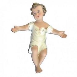 Statua Gesù Bambino a braccia aperte in resina cm 30
