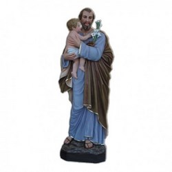 Statua San Giuseppe in vetroresina cm 175
