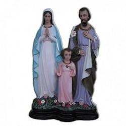 Statua Sacra Famiglia in resina cm 40