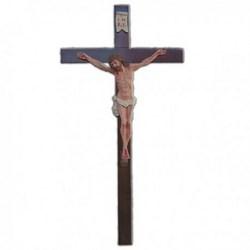Corpo cm 20 in resina, completa di croce in legno cm 50