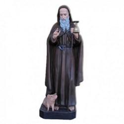 Statua Sant'Antonio Abate in vetroresina cm 120