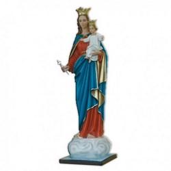 Statua Madonna Ausiliatrice in vetroresina cm 160