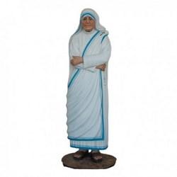 Statua Santa Madre Teresa di Calcutta in vetroresina cm 150