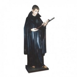 Statua San Gabriele in vetroresina cm 170