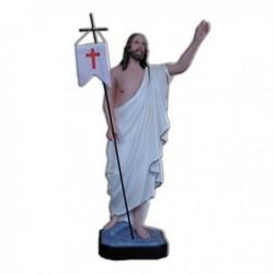 Statua Gesù Risorto in vetroresina cm 50