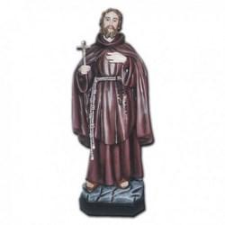 Statua San Ciro in vetroresina cm 120