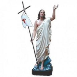 Statua Gesù Risorto in vetroresina cm 85