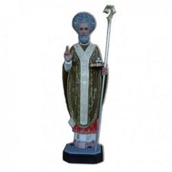 Statua San Nicola di Bari in vetroresina cm 65