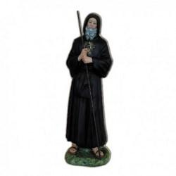 Statua San Francesco di Paola in vetroresina cm 90