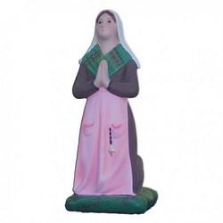 Statua Bernadette in resina cm 22 per Madonna di Lourdes da 45 cm