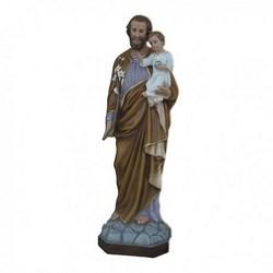 Statua San Giuseppe in vetroresina cm 160