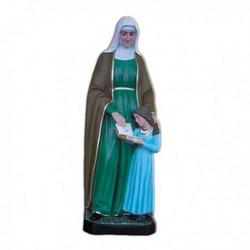 Statua Sant'Anna in vetroresina cm 60